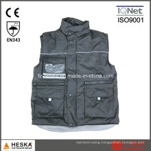 Winter Warm Workwear Multi Pocket Waterproof Vest