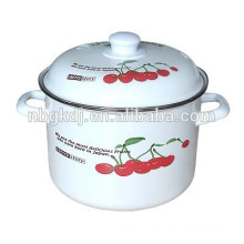 Enamel Stainless Steel High Stock Pot Enamel Stainless Steel High Stock Pot