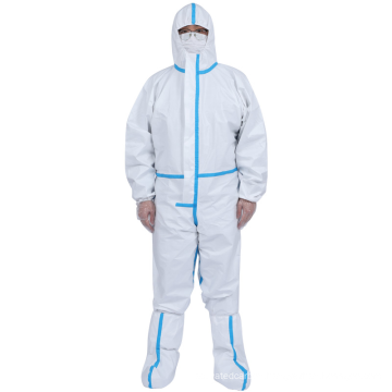 White Disposable Medical Protective Clothing