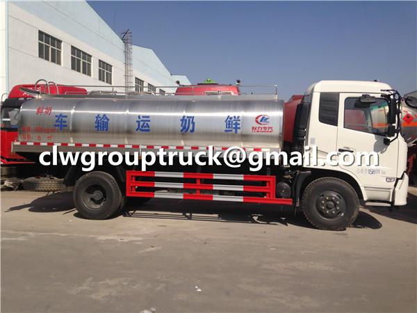 Fresh Milk Truck