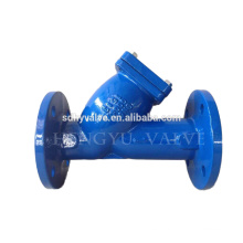 DN50-DN1400 flanged y-strainer