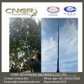 Aspirador de canaleta de fibra de carbono para postes de limpieza de palos secos y húmedos de mano para interiores / interiores