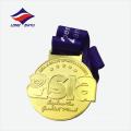 Изготовленный на заказ Логос Азии работающего металла медаль матч