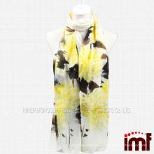 Оптовый женский дизайн чистого кашемир шарф