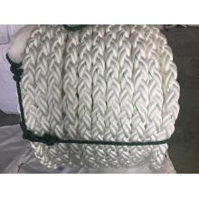 8-Strand Fiber Cordes Amarrage Corde PP Corde Polyester Corde Nylon