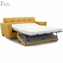 Modern Fabric Couch furniture living room sofa cum bed folding