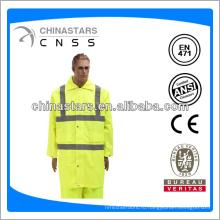 EN471 / ANSI высокий классический желтый плащ