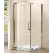 2014 lujoso diseño de ducha de acero inoxidable recinto (LTS-027)