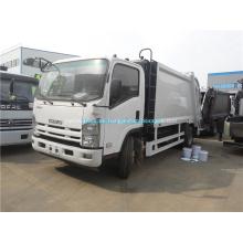 Camión de basura de compactador de basura de 8m3 nuevo ISUZU