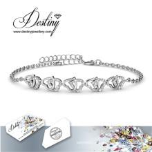 Destin bijoux cristaux de Swarovski Sweet aime Bracelet