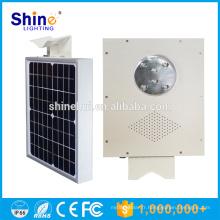 Fabriqué en Chine 5W Aluminium COB LED Street Light Prix, éclairage solaire