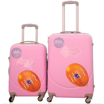 Trolley de viaje barato Hardside de la moda ABS Luggag