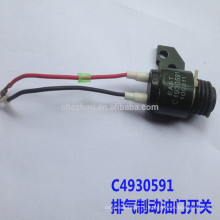Hot sale DCEC throttle valve C4930591