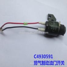 Válvula de estrangulamento venda quente DCEC C4930591
