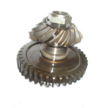 Snowmobile Racing Transmission Output Shaft and Bevel Gear