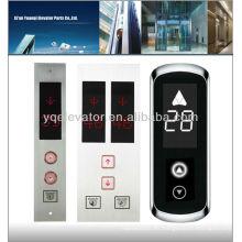 Panel del botón del elevador del polo lop, panel del botón del elevador, tablero del elevador para la venta