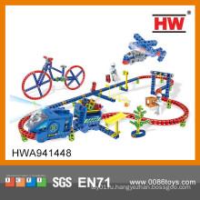 Интересные слот машины дети игрушечные автомобили гоночный трек головоломка поезд трек игрушки