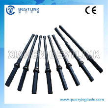 Hexagonal Integral Drill Rod with Carbide Chisel Bit