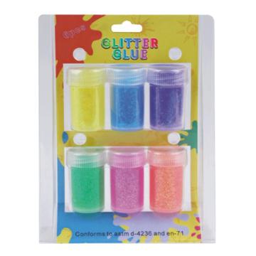 6pcs Glitter Powder