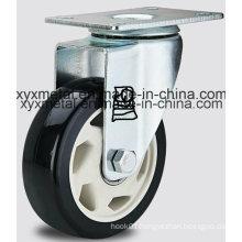 Medium Duty Double Beading PU Caster H-Technology PU Caster Heavy Caster Wheels