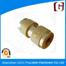 Peças sobressalentes de alumínio personalizado de alta precisão peças torneadas