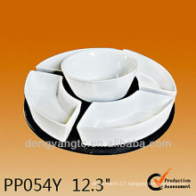 PP054Y High temperature dinnerware set ceramic,susan lazy set