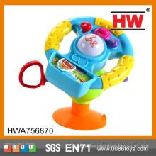 New Item plastic steering wheel musical and light