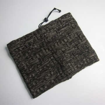 Men Gray Thick Neck Scarf