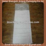 white empty bag of 50kg for flour,sugar etc