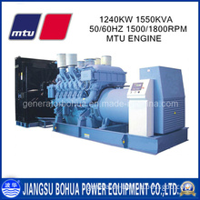 China Manufacturing 1550kVA Power Plant Mtu Diesel Engine Generator Set