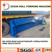Dx Máquina de corte hidráulica del metal