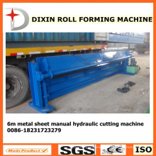 Dx 6m Hydraulic Metal Sheet Cutting Machine