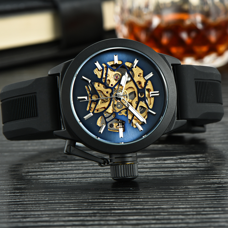 top 10 brands silicone mens wrist watch