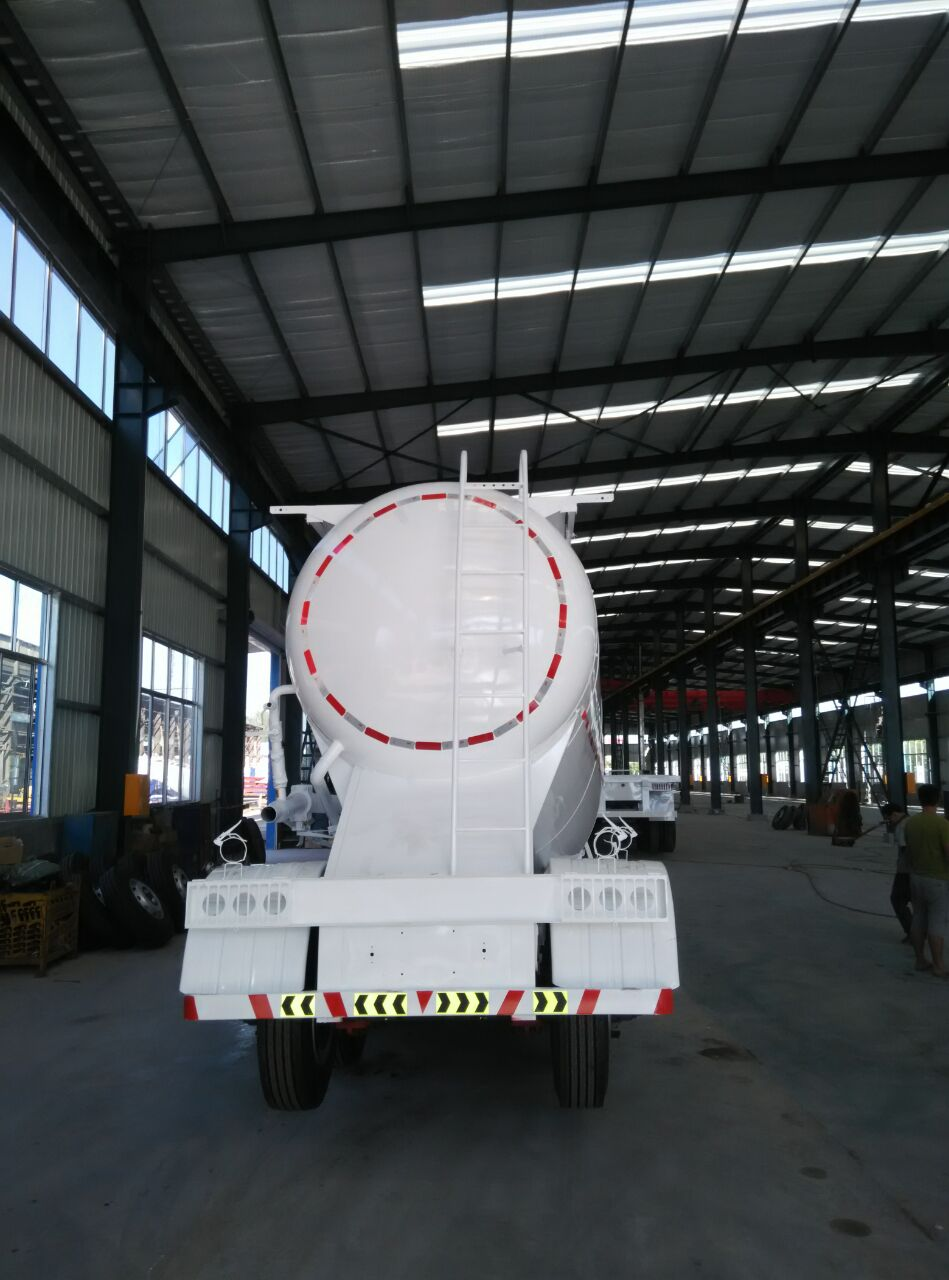 Fly Ash Tank Semi Trailer