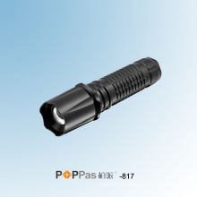 150lm CREE Xr-E Q5 Zoom LED Flashlight (POPPAS -817)