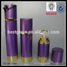 15/30/50 ml nouveaux produits fantaisie violet acrylique bouteille cosmétique or UV spécial pompe lotion acrylique cosmétique bouteille en plastique