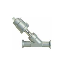 Válvula de assento angular de encaixe sanitário