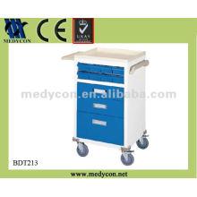 ABS-Oberteil und Stahlrahmen beschichtet Medizinwagen