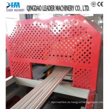 Producción de perfil / línea de producción de PVC Six Profiles