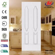 JHK-020 Хорошее качество белой грунтовки для двойной двери с неодинаковой дверью