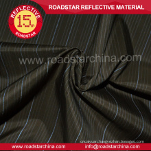 Dress Shirt Fabric 100% polyester reflective fabric