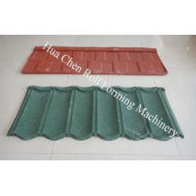 Vermiculite Stone Coated Roof Tile Machine With Electrical