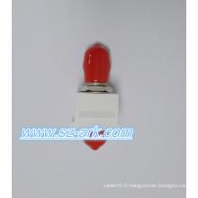 St Singlemode Simplex Keystone Insert Kits Adaptateur fibre optique