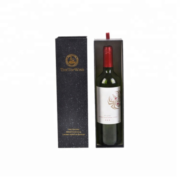 Red Wine Packaging Paper Wine Gift Box Wholesale