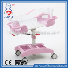 ABS China manufacture hospital baby crib
