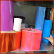 Película transparente rígida del PVC para los juguetes Embalaje
