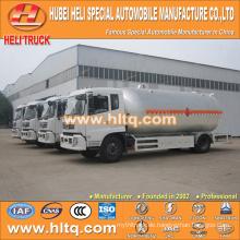 DONGFENG 4x2 flüssiger Ammoniak-Transportwagen 15CBM 190HP cummins Motor heißer Verkauf preiswerter Preis