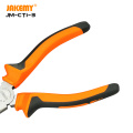 JAKEMY Precision Safe Pliers DIY Repair Hand Tool with Comfortable Handle for Wire Gadgets Component Cutting Stripping