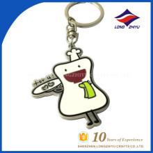 Niedliche lustige Karikaturkochtopfketten-Förderung keychain