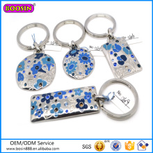 Alibaba Wholesale Chinese Style Simple Metal Pendant Keychains